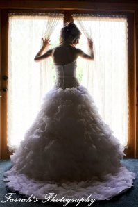 Bridal Silhouette pictures, Bridal portraits, knoxville photographers, knoxville wedding photographers